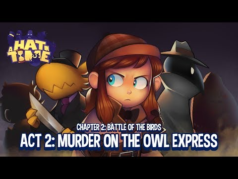 A Hat In Time: Murder On The Owl Express - All Endings!