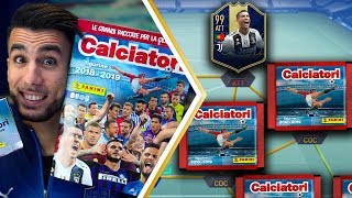 RONALDO TOTY con 1 BUSTINA PER OGNI RUOLO! | APERTURA CALCIATORI PANINI 2019 su FIFA 19 EP.8