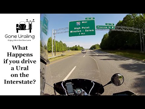 Can You Ride a Ural on the Interstate? And other FAQs