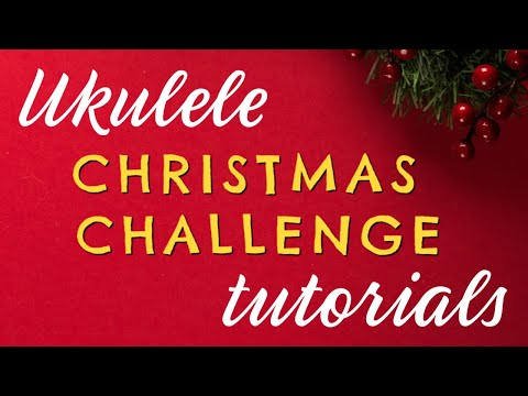 Ukulele Christmas Song Tutorials + Free Printable