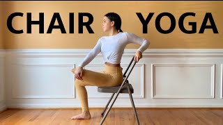 Chair Yoga | Office Break Stretch | 10-Minute Sequence