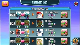 Monster Legends - BREEDING EVENT IS OVER =( How to breed Legendary Firus and Panda Claus