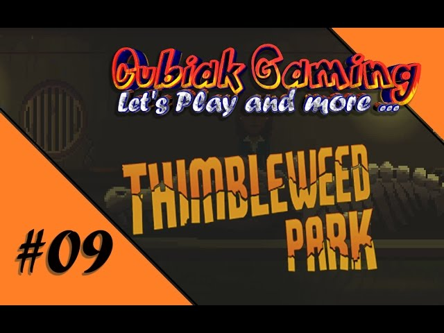 SEE YOU LATER ALLIGATOR ★ Let's Play Thimbleweed Park #09