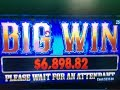HUGE JACKPOT🍀Black Diamond $0.25 Slot Max Bet $6.75/Hand Pay  Almost $7,000 San Manuel, Akafujislot