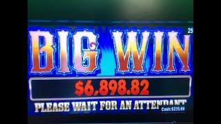Mega Jackpot + Big Win🍀Black Diamond Slot $0.25x27 Max Bet $6.75/Hand Pay, San Manuel, Akafujislot