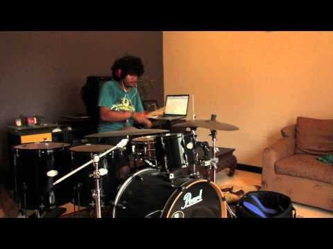 BLP - Walking With The Bass (Drum Cover) videlis aga