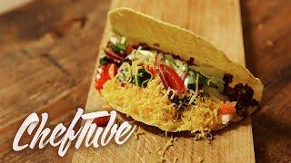 Como Cocinar Tacos de Carne Picada - Receta en la descripción