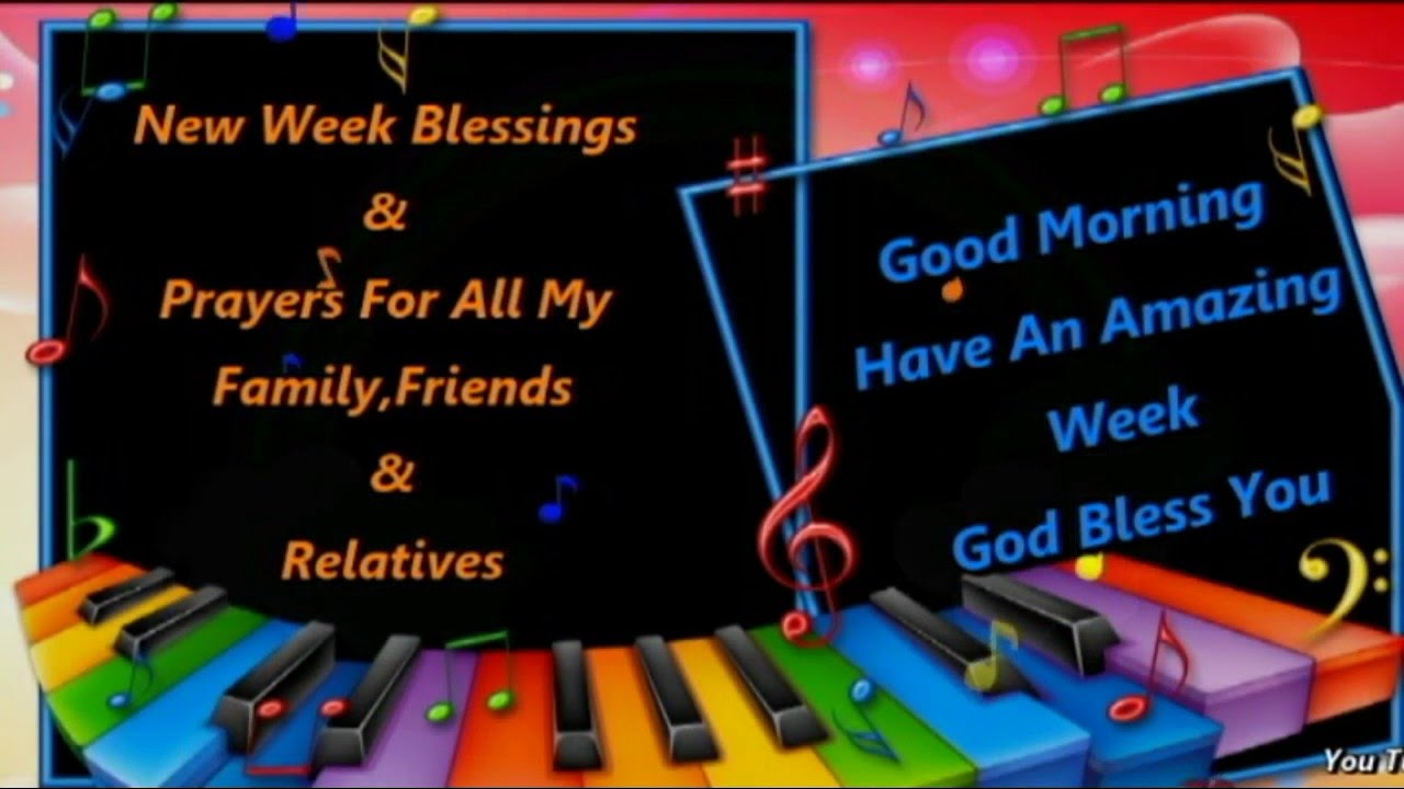New week sms prayer