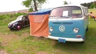 1972 VW BUS TYPE II TRANSPORTER Walk Around