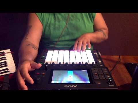 Akai Force Workout (utilizing Automation, Hype, Electric, Chord And Arp Function).