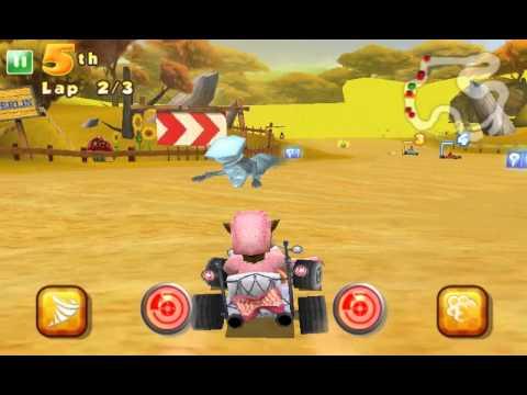 Shrek Kart - Android HD trailer by Gameloft