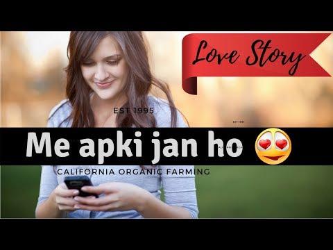 Cute Love Conversation B/w She & He   Hindi   Urdu   Whats App Chat   Short Love Sotry