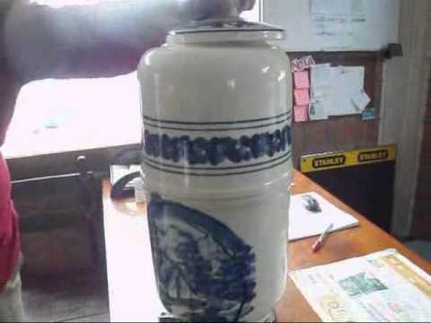 Filtro de porcelana para agua coleccionable youtube - Filtros para grifos de agua ...
