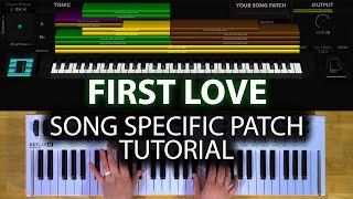 First Love MainStage patch keyboard tutorial- Kari Jobe