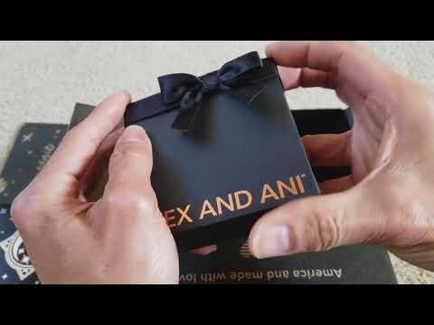 Triple Unboxing ALEX AND ANI Bracelets Charm Bangle Exclusive Sets! 1 11 2018