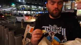 Little Italy Pizza in Midtown Manhattan - White Pizza & Buffalo Chicken Pizza - New York City
