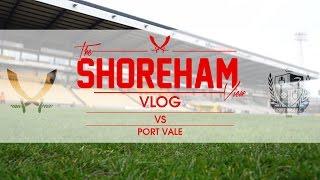 Sheffield United VS Port Vale Away - Shoreham View VLOG