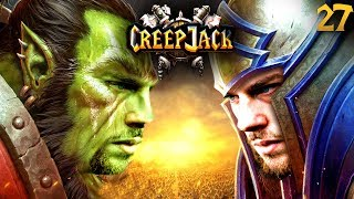 Helden im Test & Harte Ligaspiele | Creepjack - Warcraft 3 #27 mit Florentin