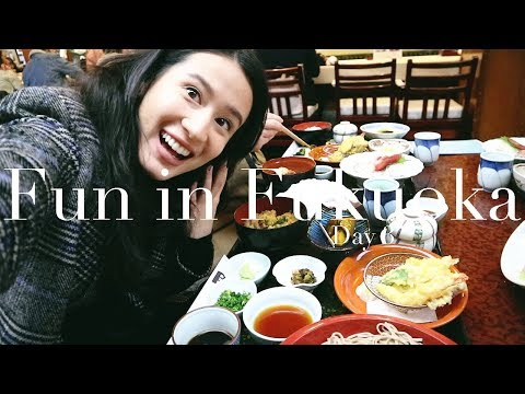 THE BEST SUSHI & OUTLET SHOPPING! | Fukuoka Day 3 | Karla Aguas