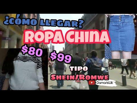 099c6824d380 Tienda ROPA CHINA MIXCALCO CDMX BARATA/Minette Yoe