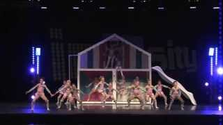 "Highest Scoring Junior Routine   ""big Dollhouse"" Club Dance"