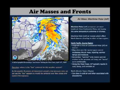 GeoWx 9.1: Air Masses and Fronts: Air Masses