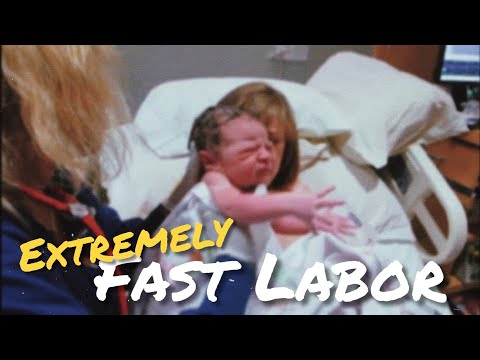 Emotional LIVE Birth | SUPER FAST Labor and Delivery | Failed Epidural!