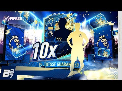 10 X GUARANTEED PREMIER LEAGUE TOTS PACKS! | FIFA 20 ULTIMATE TEAM