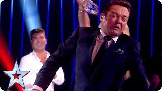 BGMT: Amanda gives Stephen a soaking  Semi-Final 1  Britain&#39s Got Talent 2015