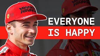 Leclerc Admits Ferrari Is