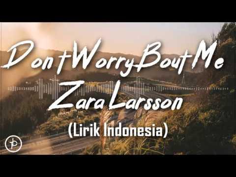 Zara Larsson - Don't Worry Bout Me (Lirik Dan Arti | Terjemahan)