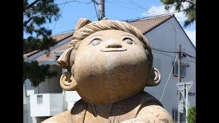 遠州七不思議のひとつ「波小僧」のお話を、劇団たんぽぽの矢羽田裕子さんに朗読してもらいました。 撮影・川戸賢一.