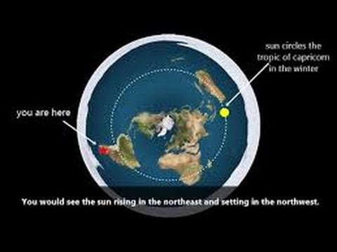 Flat Earth Map And Globe Map Wrong