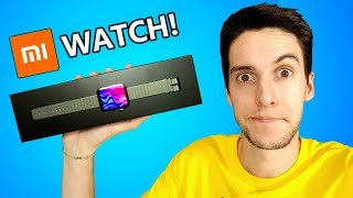 TENGO el Xiaomi Mi WATCH!!!!!! Unboxing + VS Apple Watch en español
