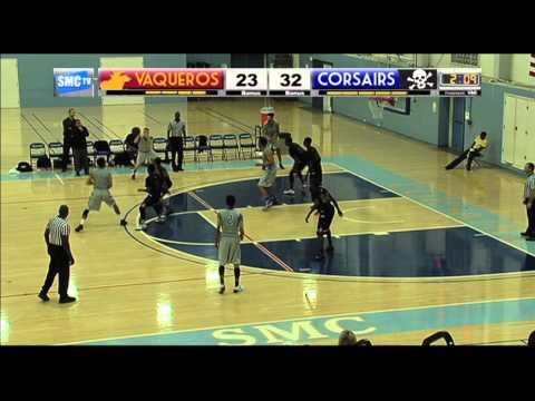 Santa Monica College Men's Basketball vs Glendale Community College - February 7, 2015 (Full Game)