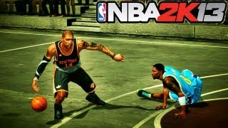 NBA 2K13: 3 on 3 Blacktop | Your Team is TRASH if you Don