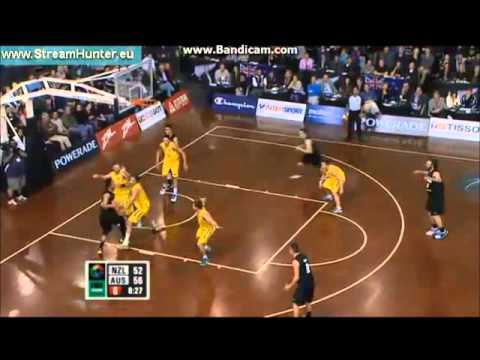 Big Plays by Ben Simmons on his Boomers debut vs New Zealand
