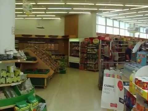 Ρεπορτάζ Βρετανών στο Super Market INKA Σούδας