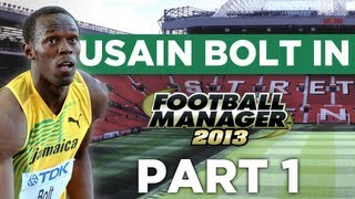 Video Usain Bolt in Football Manager - FM Experiment download MP3, 3GP, MP4, WEBM, AVI, FLV Desember 2017