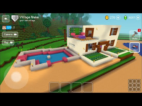 Block Craft 3D : Building Simulator Games For Free Gameplay#435 (iOS & Android) | Cool Home