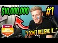 Tfue Nearly CRIES After Winning 10 000 000 Fall Skirmish AGAIN HIS DAD GIVES A SPEECH EMOTIONAL mp3