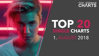 TOP 20 SINGLE CHARTS ▸ 1. AUGUST 2018
