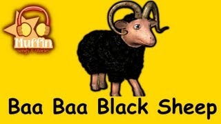 Baa Baa Black Sheep | Family Sing Along - Muffin Songs