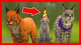 СИМУЛЯТОР РЫСИ #3 КОРМИМ РЫСЬ Жизни Зверей WildCraft про котят и собак от ДЕТСКИЕ ИГРЫ