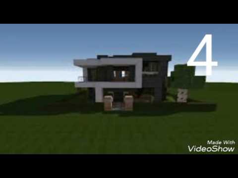 Case Moderne Minecraft : Top case moderne din minecraft youtube