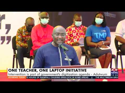 One Teacher, One Laptop Initiative: Intervention is part of government's digitization agenda(3-9-21)