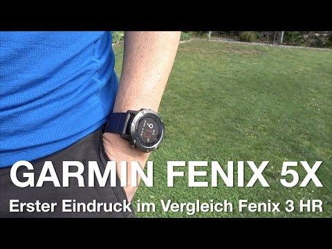 Garmin Fenix 5x - Erster Eindruck. Lohnt Wechsel Von Der Fenix 3 (HR)?