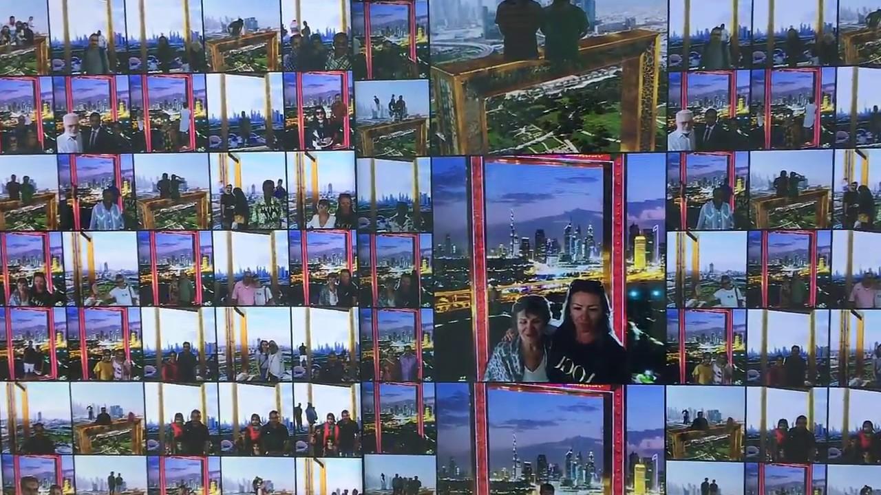 Zolotaya Ramka Dubaya Dubai Frame Chto Posmotret V Dubae V 2018