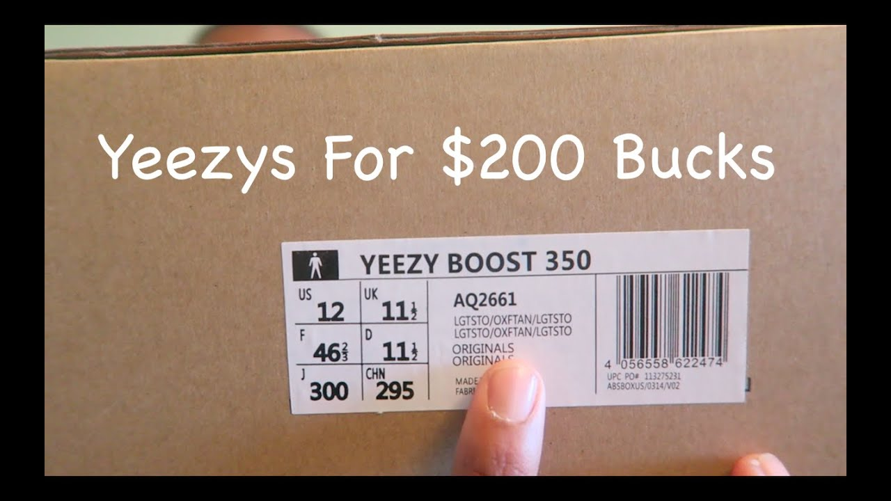 Alternative To Spending $1000 On Yeezy Boosts