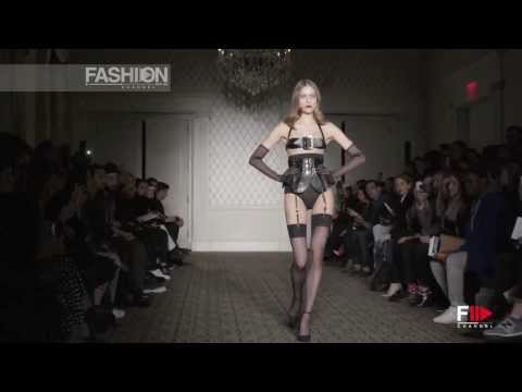 """ZANA BAYNE"" New York Fashion Week Fall Winter 2014 2015 by Fashion Channel"